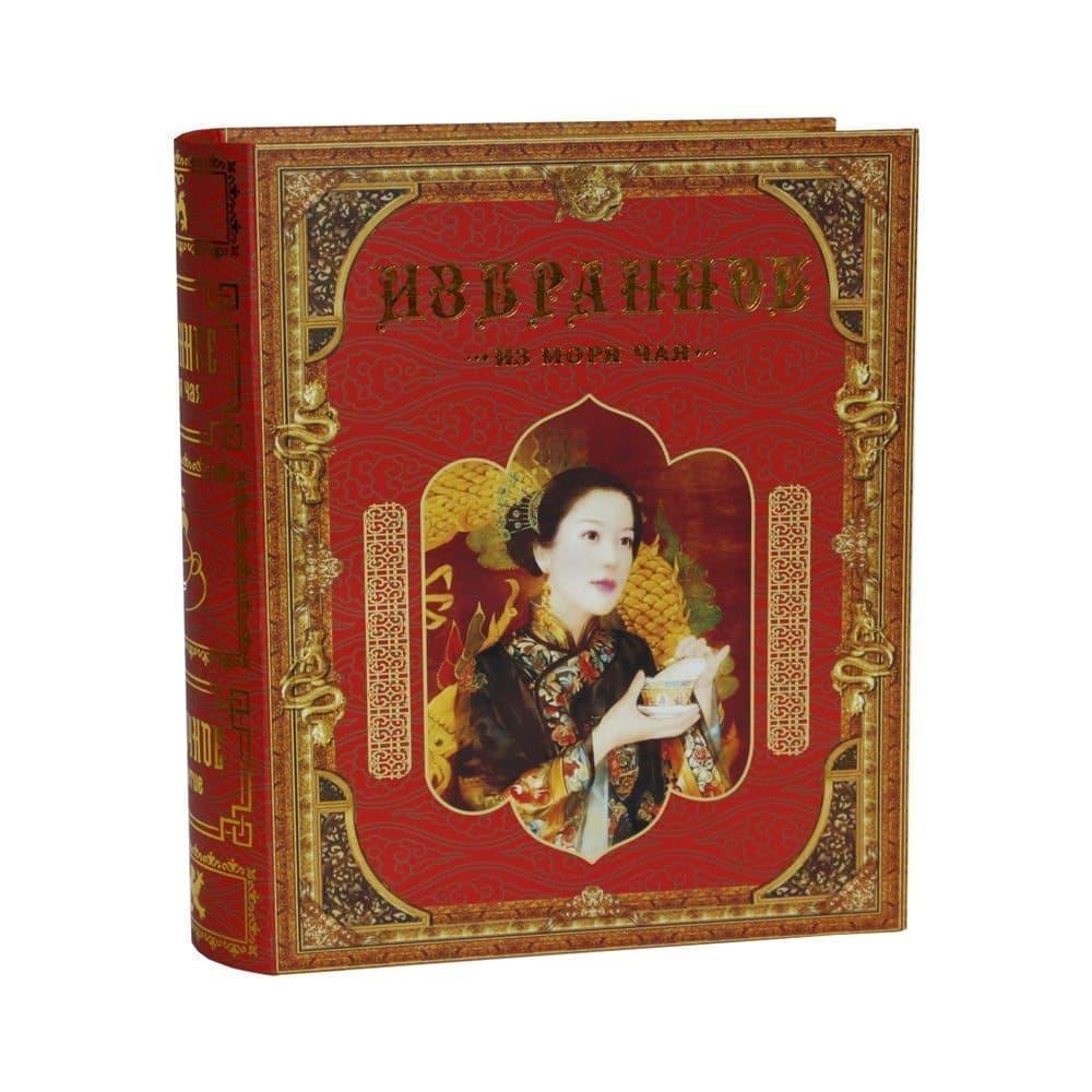 Чай Восточное чаепитиеЧай и кофе<br>Подарочный набор чая Восточное чаепитие упакован в стильную шкатулку в форме книги. В набор входят два вида чая: цейлонский крупнолистовой и зеленый чай. Шкатулка выполнена из картона, закрывается на магнит. Вес 185 г.<br>