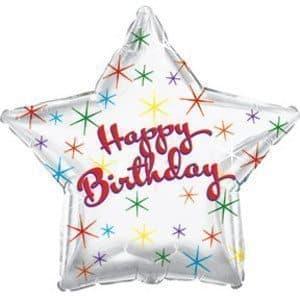 Воздушный шар звезда С Днем Рождения!Воздушные шарики<br><br>
