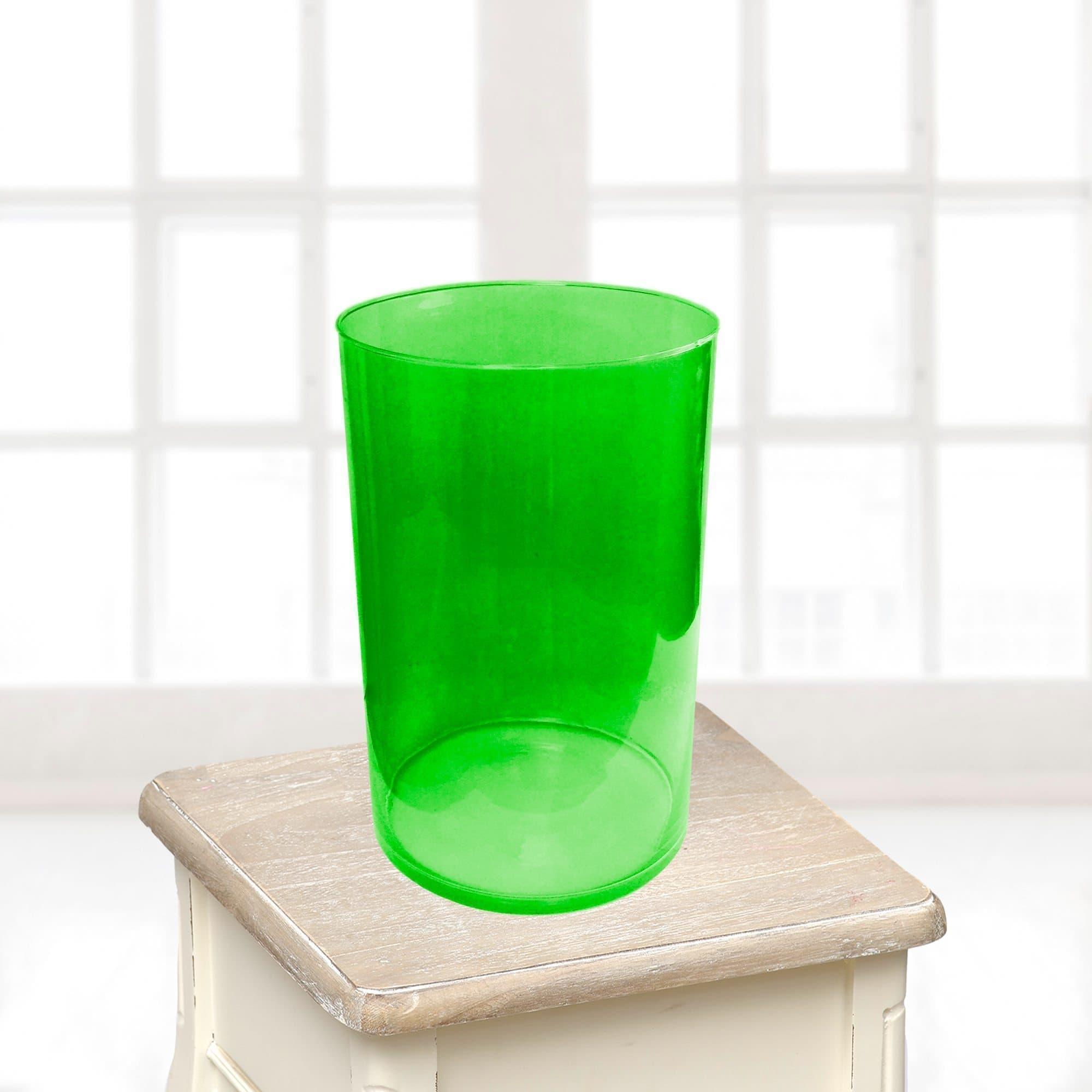 Ваза большая зеленаяВазы<br>Ваза из стекла.<br>