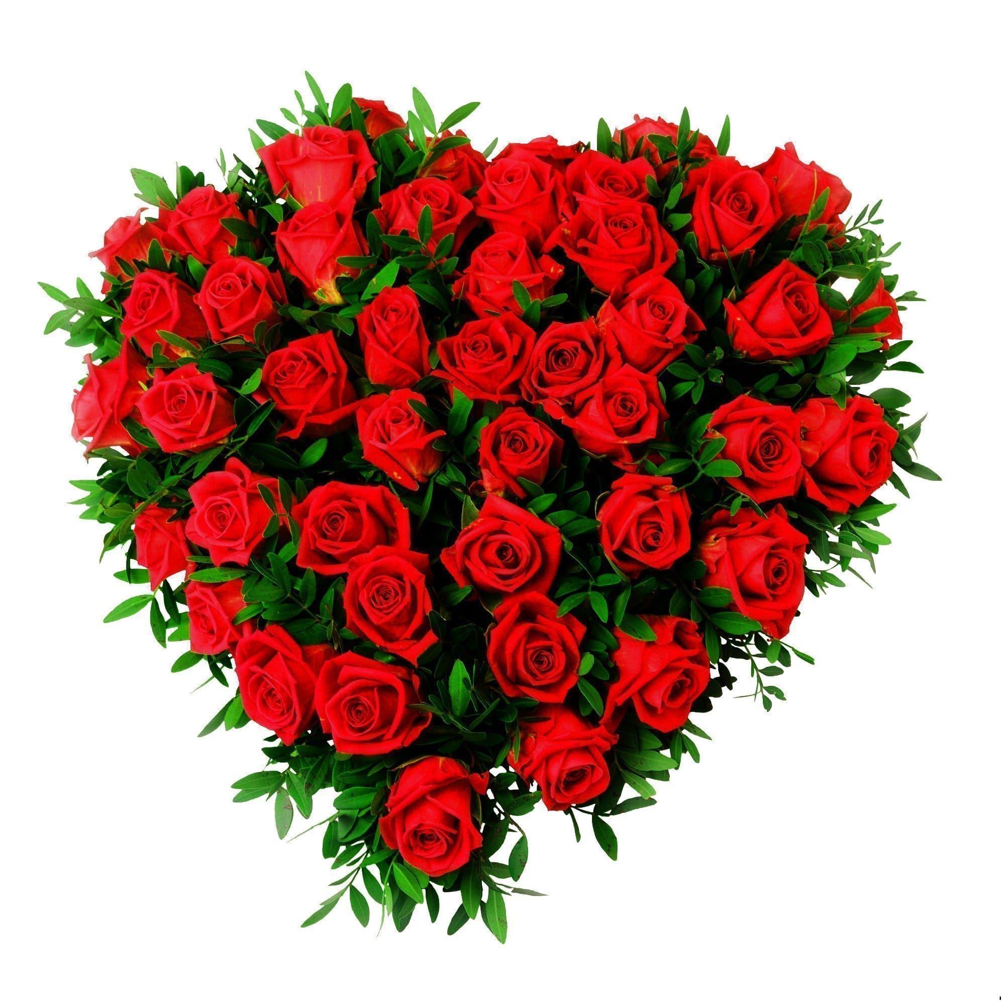 Красное сердцеКрасные розы<br>Композиция из 45 красных роз продемонстрирует любимым преданное отношение и искреннюю благодарность. Цветы закреплены в оазисе в форме сердца. Украшены пышной зеленью. Размер флористического шедевра 31х29 см. Такой подарок точно будет уместен на любом пра...<br>