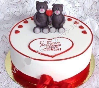Торт  Влюблённые