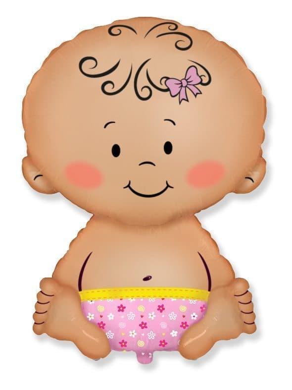 Воздушный шар Малыш девочкаВоздушные шарики<br><br>