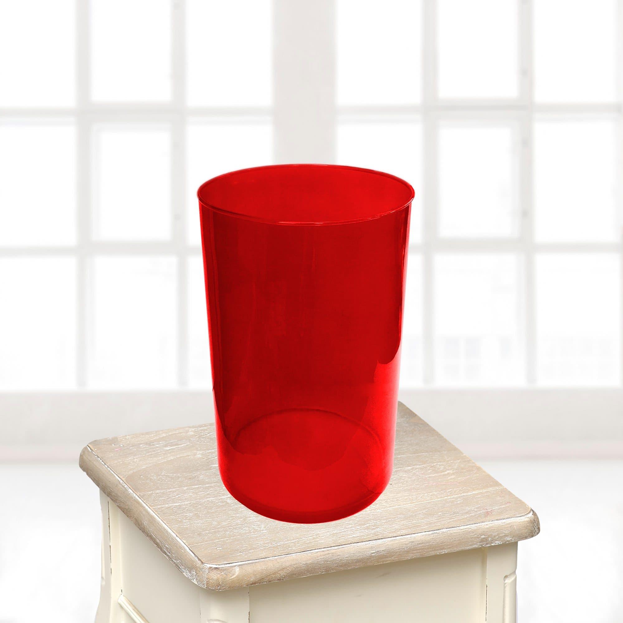 Ваза большая краснаяВазы<br>Ваза из стекла.<br>