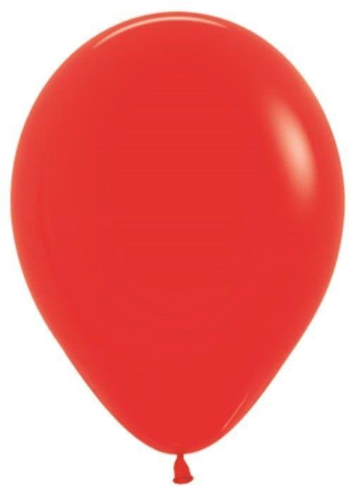 Воздушный шар красныйВоздушные шарики<br>Воздушный шар из латекса яркого цвета на выбор. Примерный диаметр 28 см. Летающий шарик с гелием обрадует как юного, так и взрослого именинника. Закажите шарики в подарок к букету или мягкой игрушке - подарите близким радость.<br>