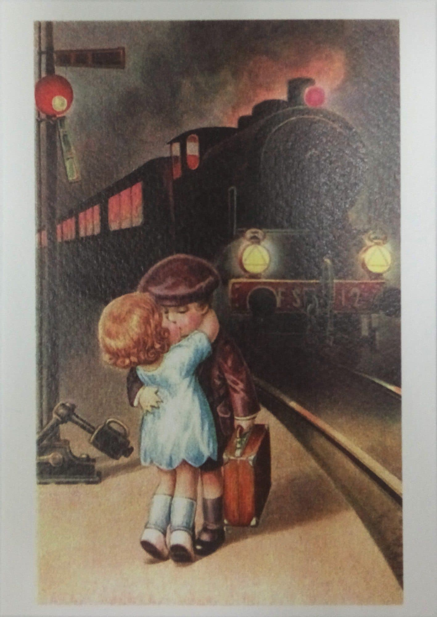 Открытка с поездомБольшие открытки 100 руб.<br><br>