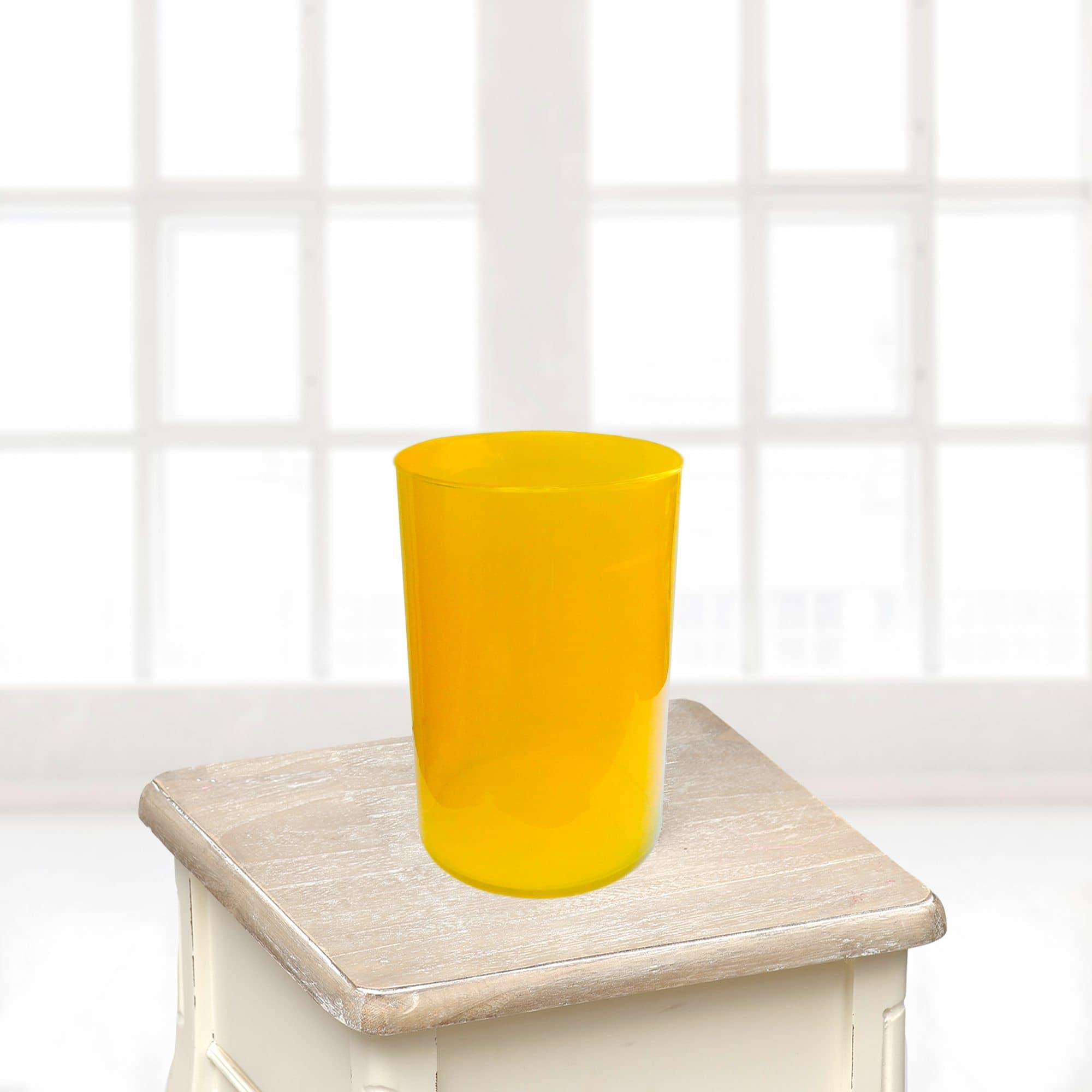 Ваза маленькая желтаяВазы<br>Ваза из стекла.<br>