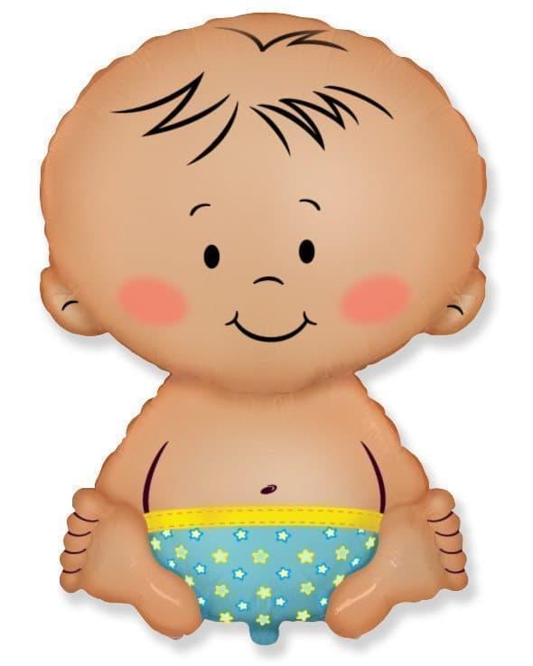 Воздушный шар Малыш мальчикВоздушные шарики<br><br>