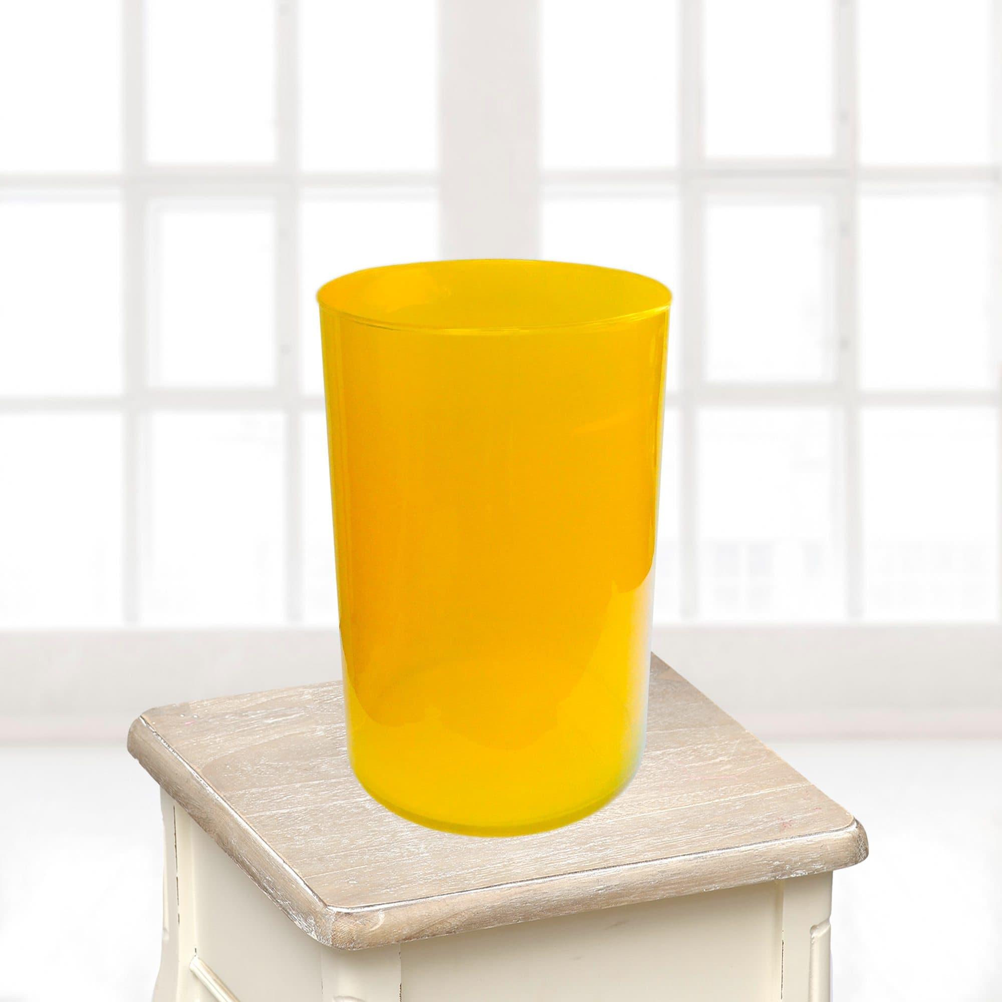 Ваза большая желтаяВазы<br>Ваза из стекла.<br>