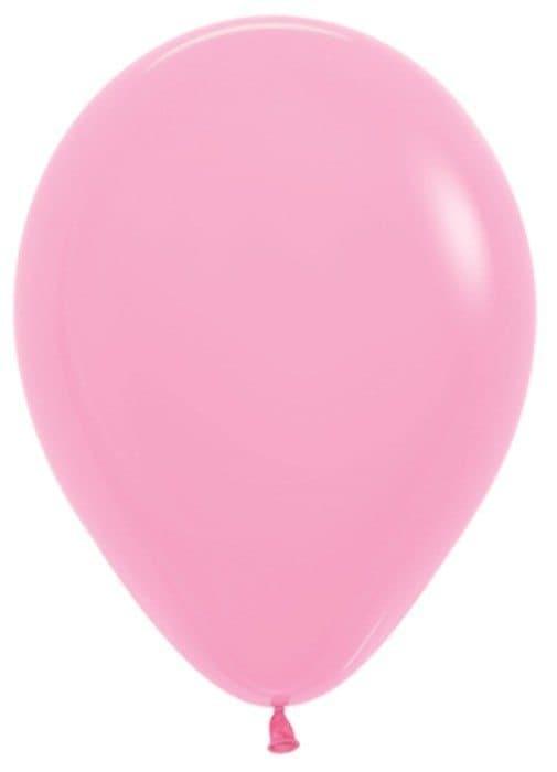 Воздушный шар розовыйВоздушные шарики<br>Воздушный шар из латекса яркого цвета на выбор. Примерный диаметр 28 см. Летающий шарик с гелием обрадует как юного, так и взрослого именинника. Закажите шарики в подарок к букету или мягкой игрушке - подарите близким радость.<br>