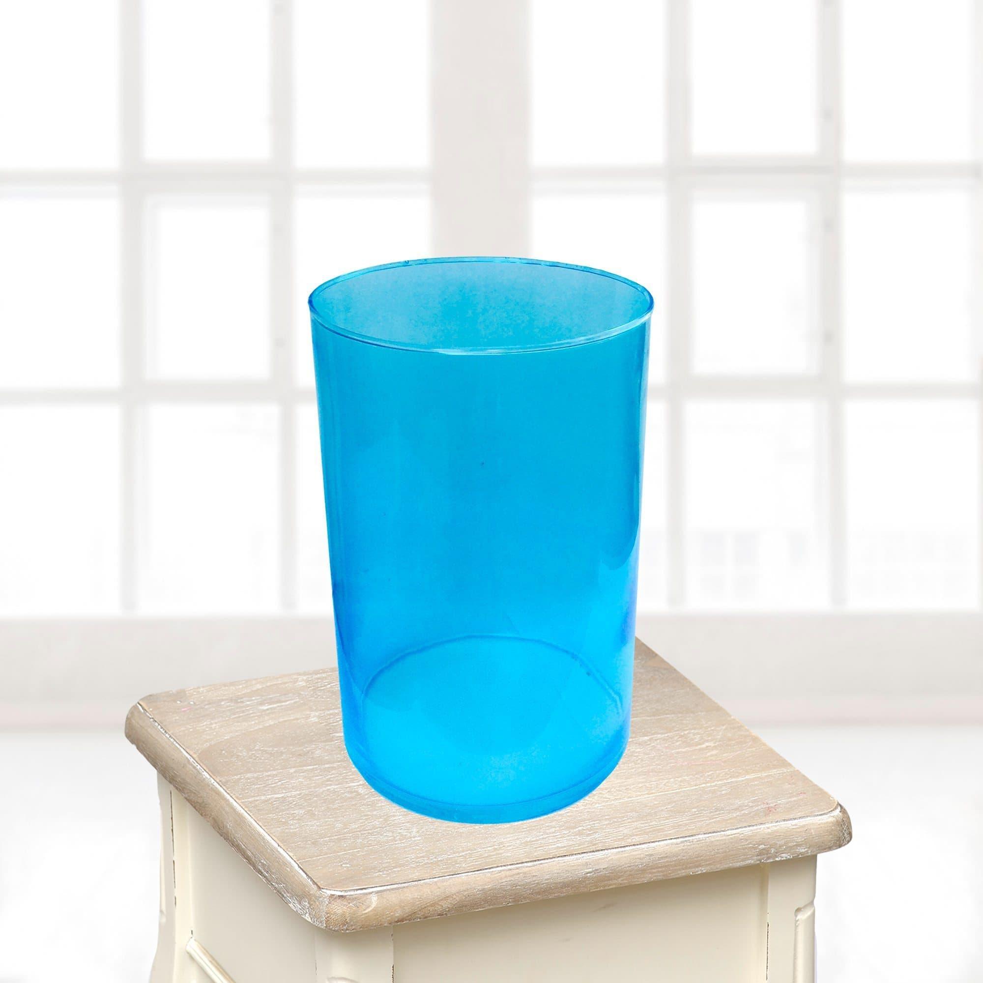 Ваза большая синяяВазы<br>Ваза из стекла.<br>